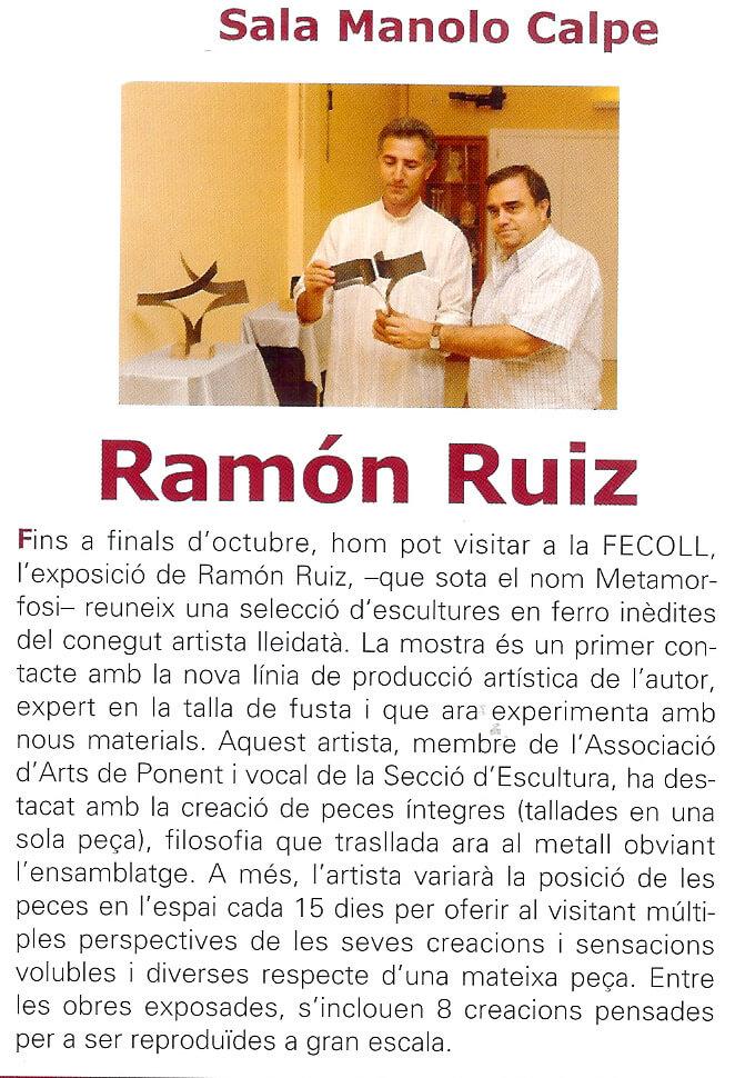 Exposición Sala Manolo Calpe